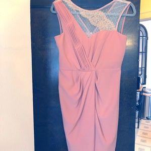 ModCloth dress in mauve pink